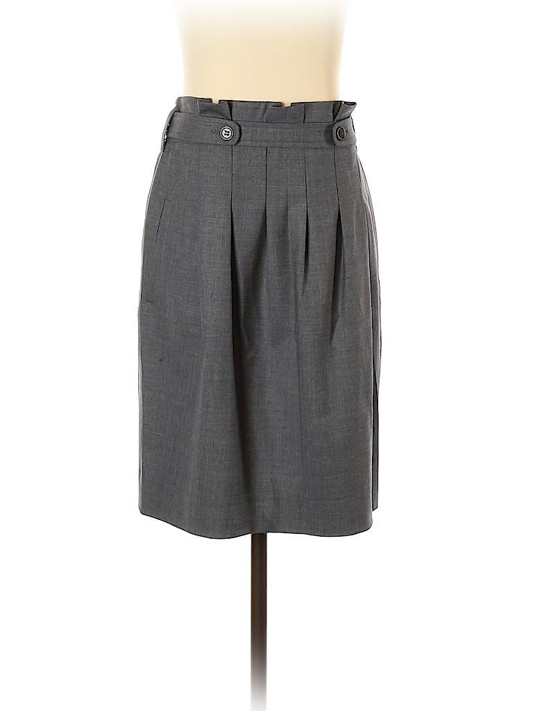 BCBGMAXAZRIA Women Wool Skirt Size 4
