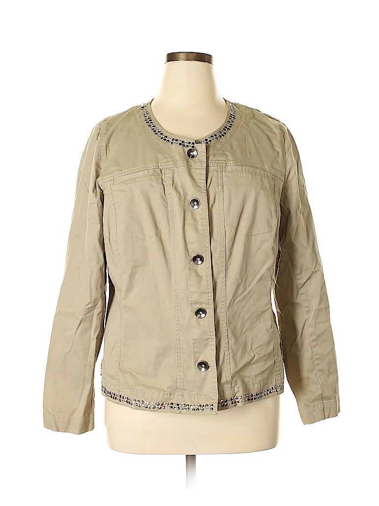 Lane Bryant Women Jacket Size 20 (Plus)