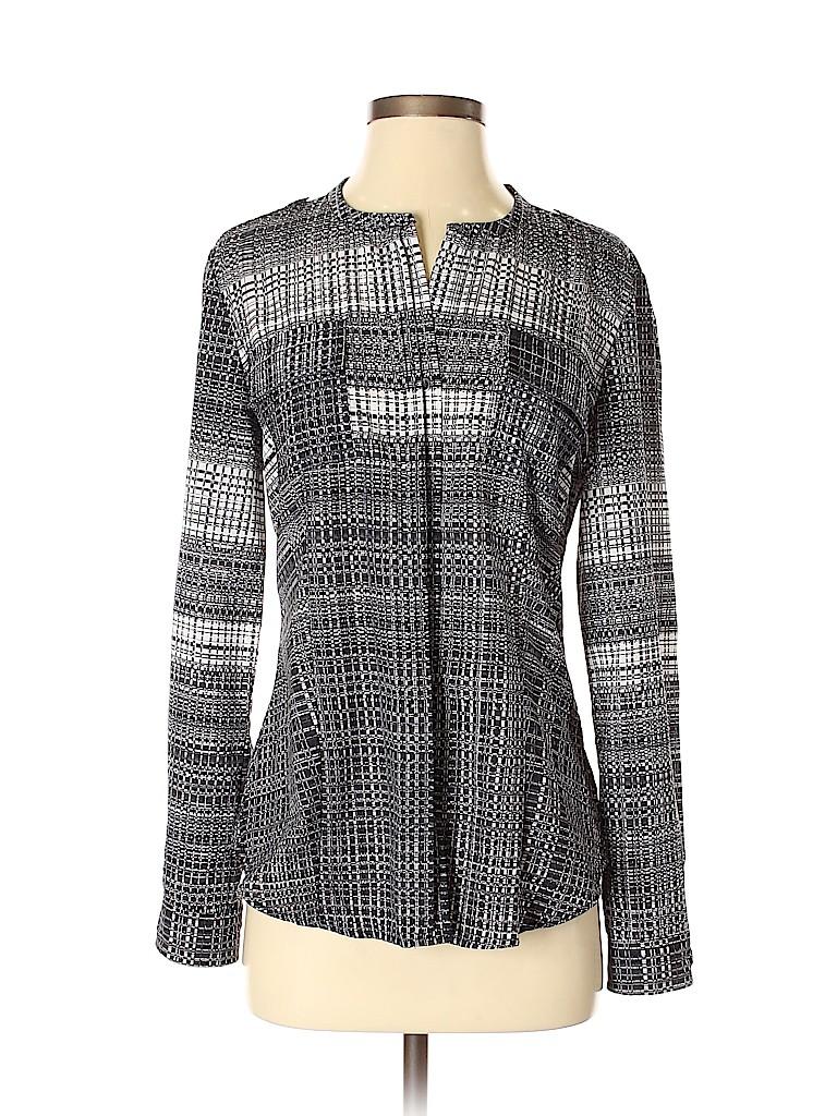 Calvin Klein Women Long Sleeve Blouse Size S