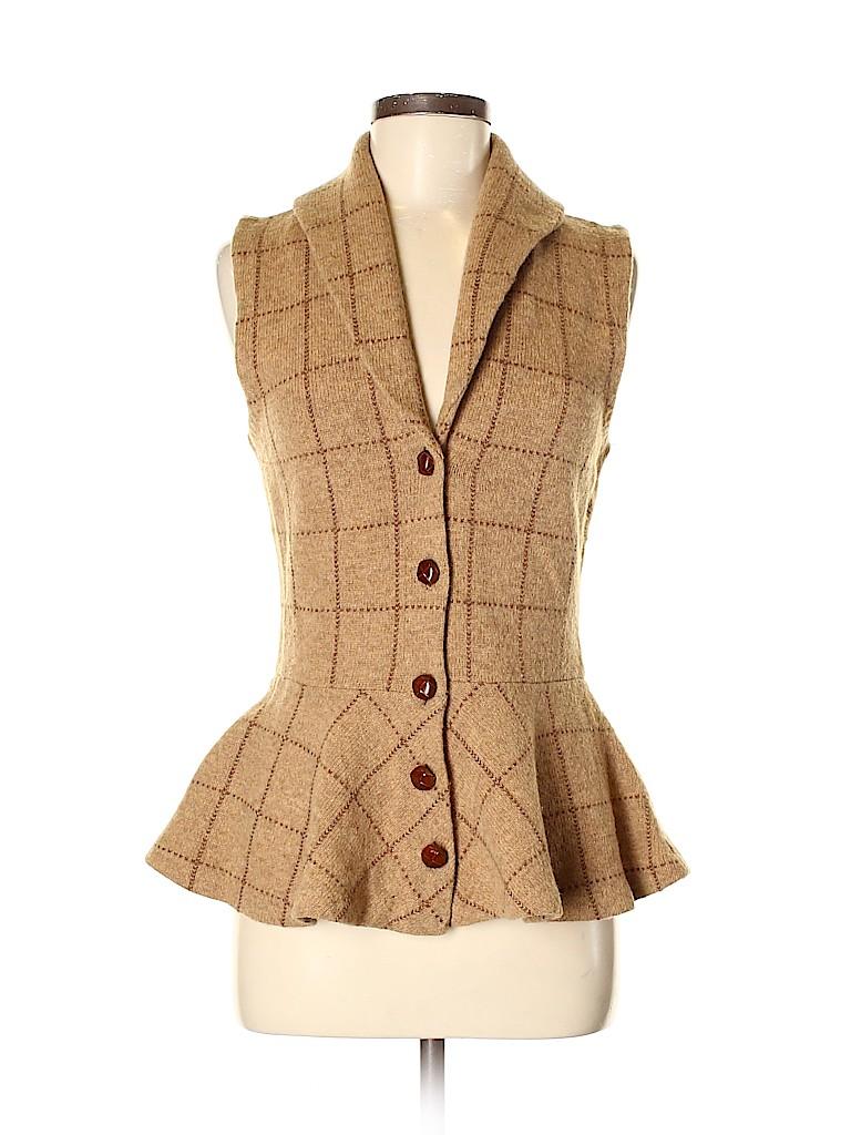 Lauren by Ralph Lauren Women Wool Cardigan Size S