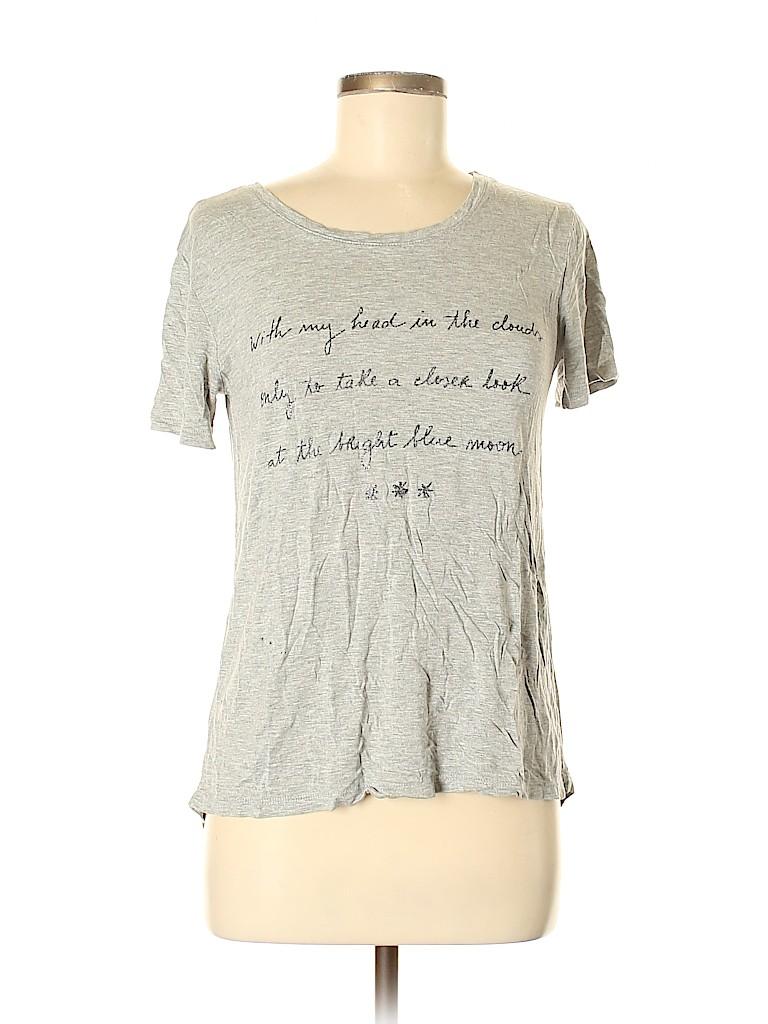Zara Basic Women Short Sleeve T-Shirt Size M