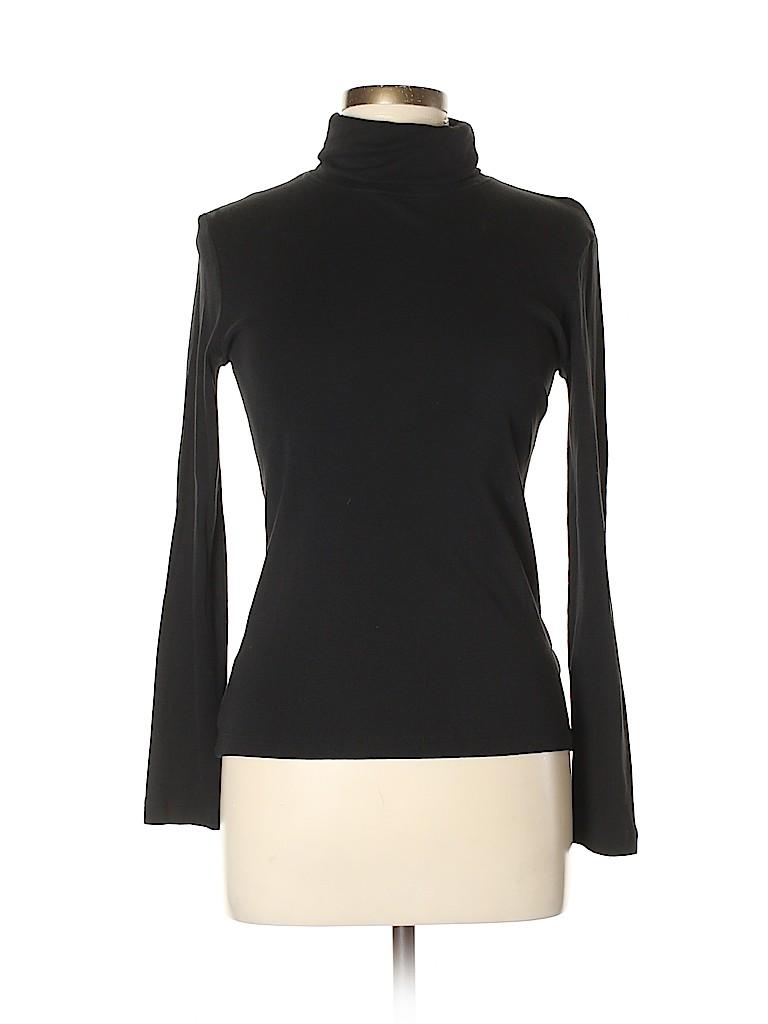 Jones New York Signature Women Turtleneck Sweater Size M