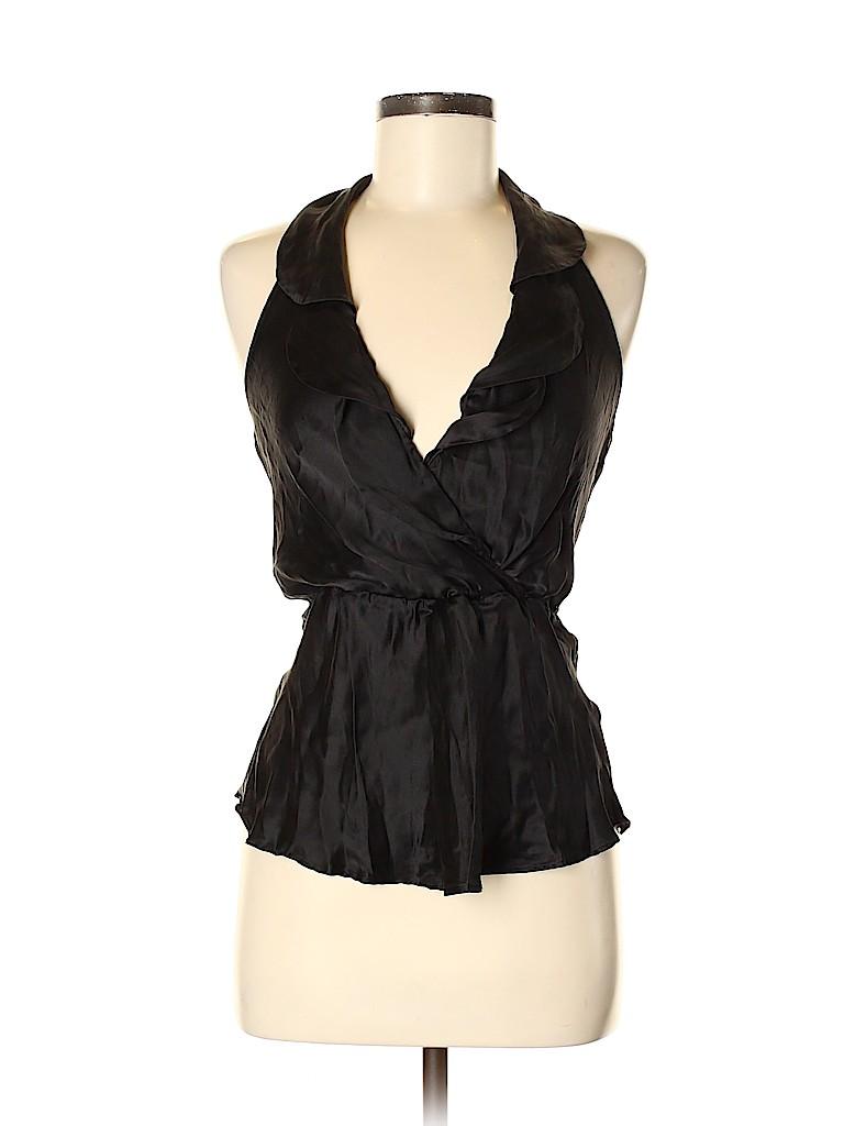 Arden B. Women Sleeveless Silk Top Size S