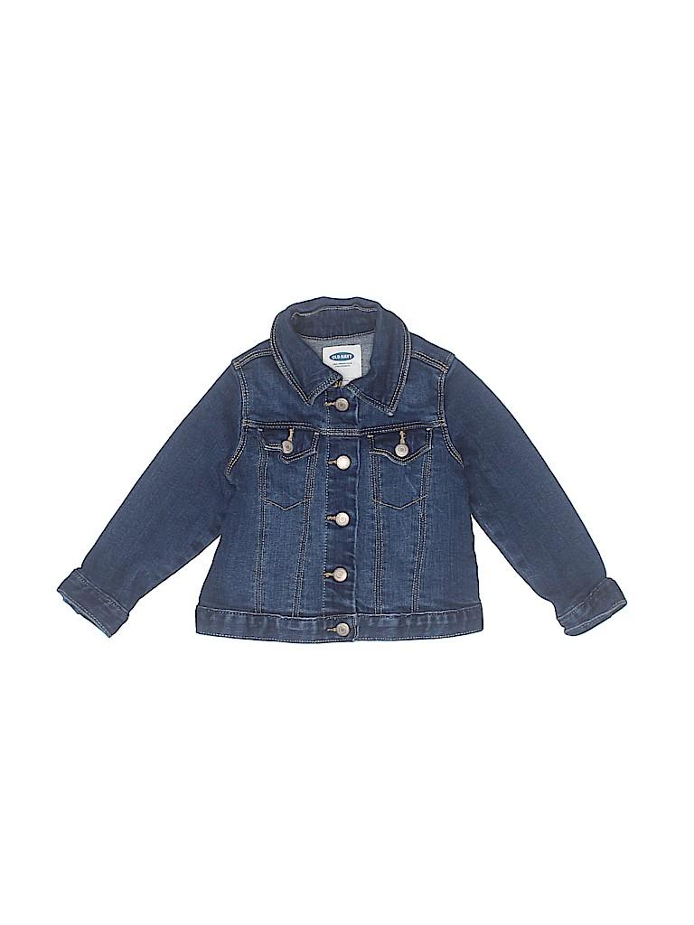 Old Navy Girls Denim Jacket Size 18-24 mo