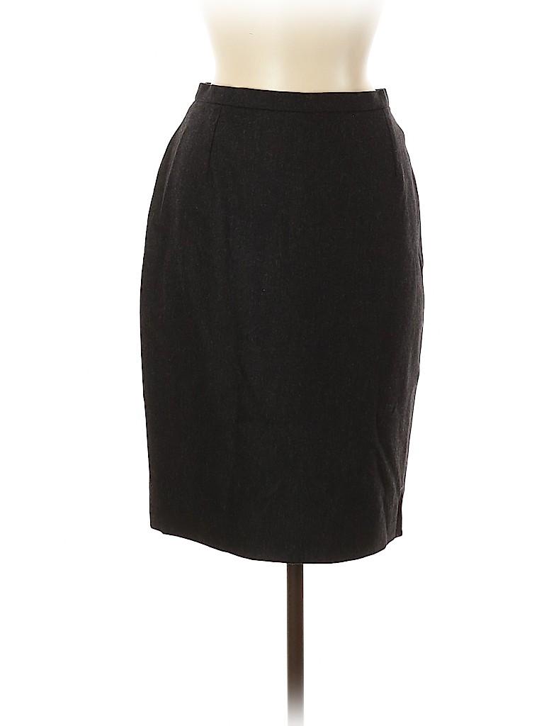 Yves Saint Laurent Variation Women Wool Skirt Size 6