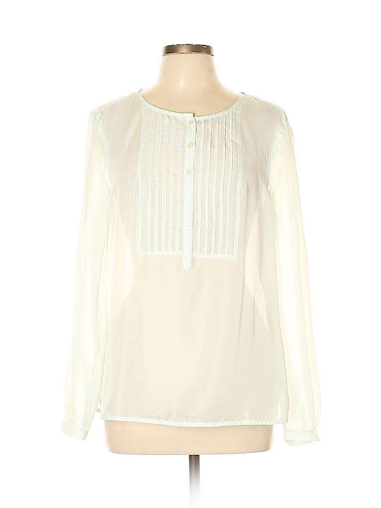 Ann Taylor LOFT Women Long Sleeve Blouse Size L