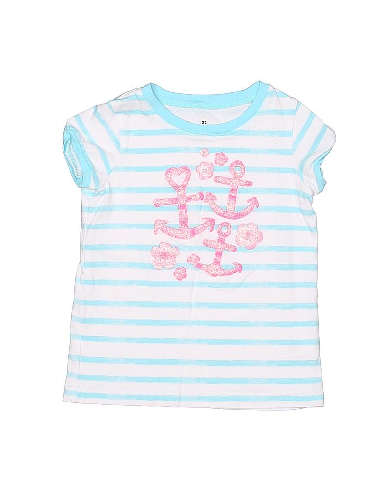 Jumping Beans Girls Short Sleeve T-Shirt Size 24 mo