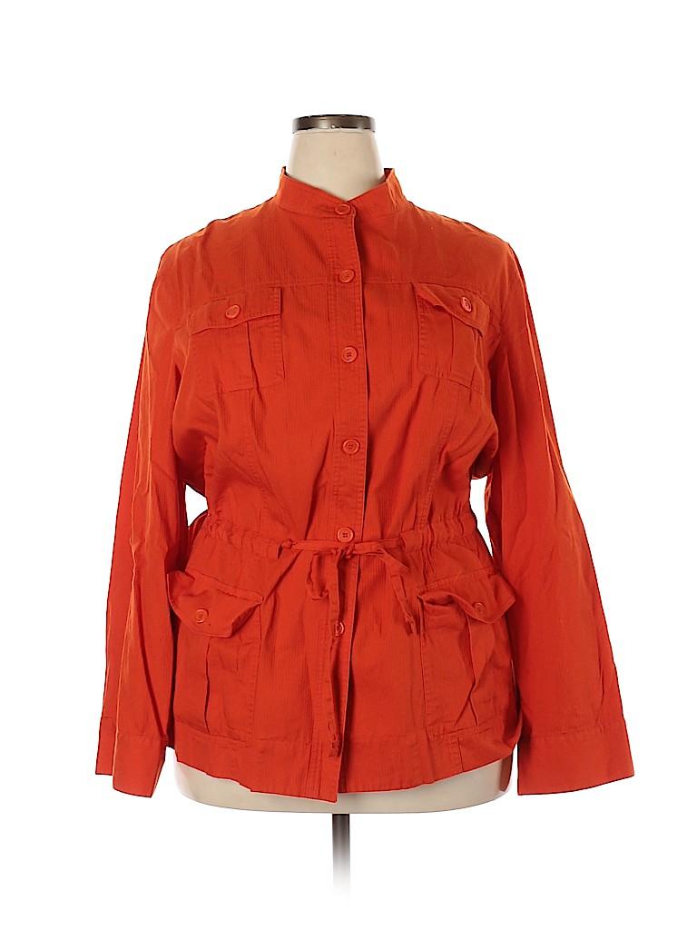 Jones New York Sport Women Long Sleeve Blouse Size 3X (Plus)