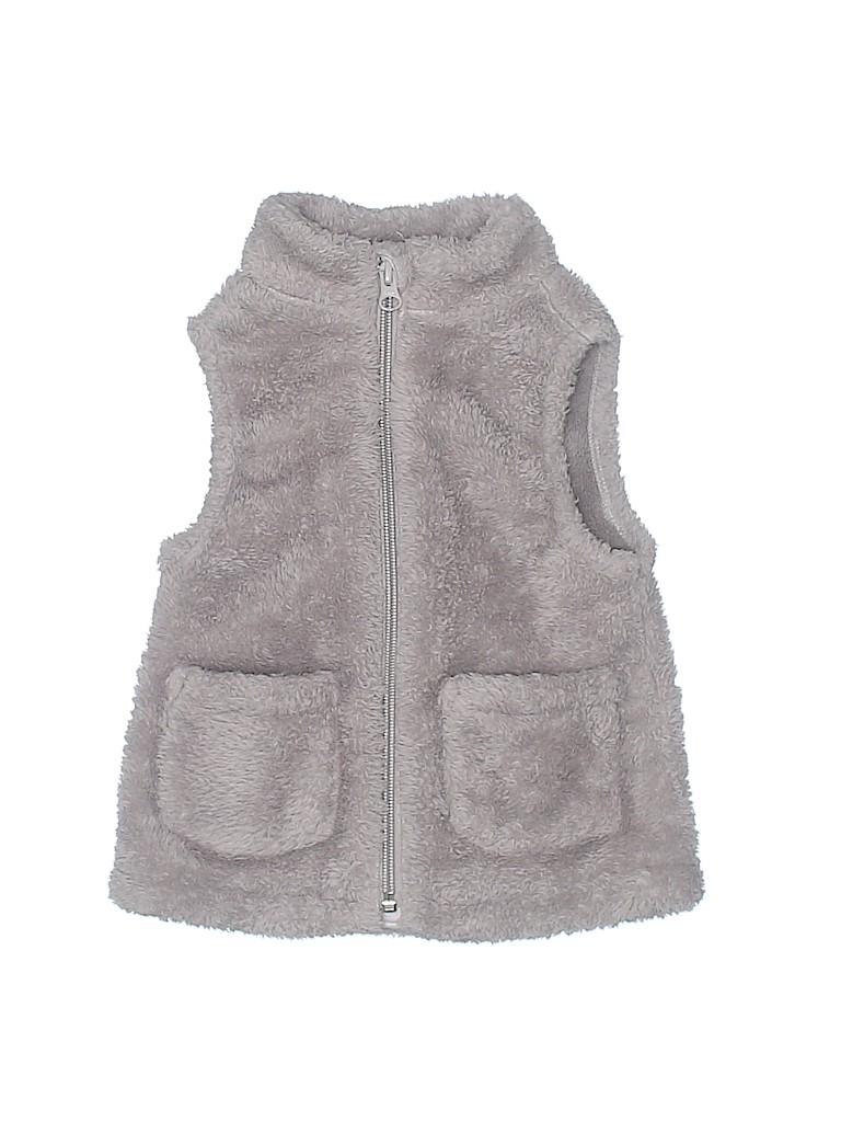 Old Navy Girls Faux Fur Vest Size 2T