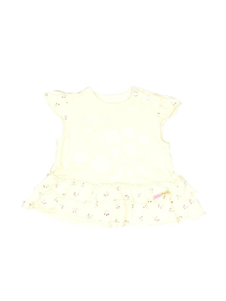 Baby Naartjie Girls 3/4 Sleeve Top Up to 7lbs