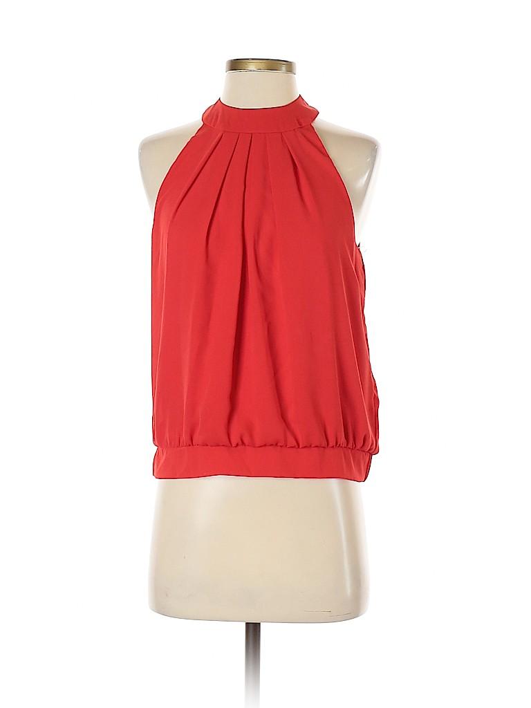 Arden B. Women Sleeveless Blouse Size S