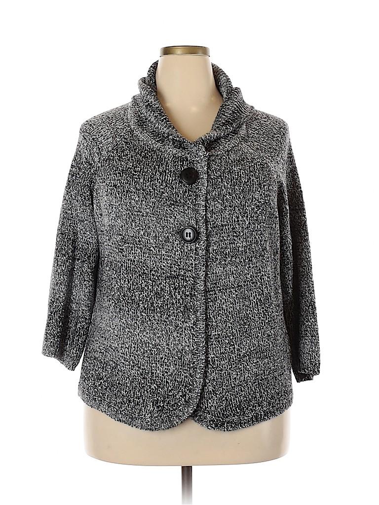 Style&Co Women Cardigan Size 2X (Plus)
