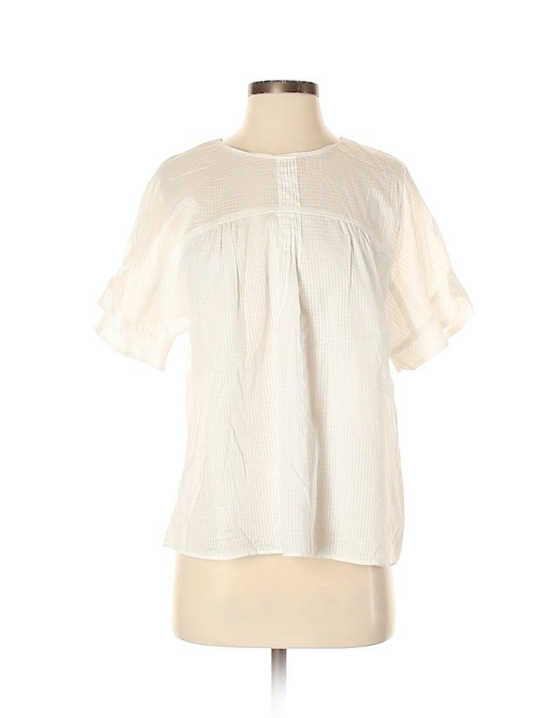 Zara Basic Women Short Sleeve Blouse Size S