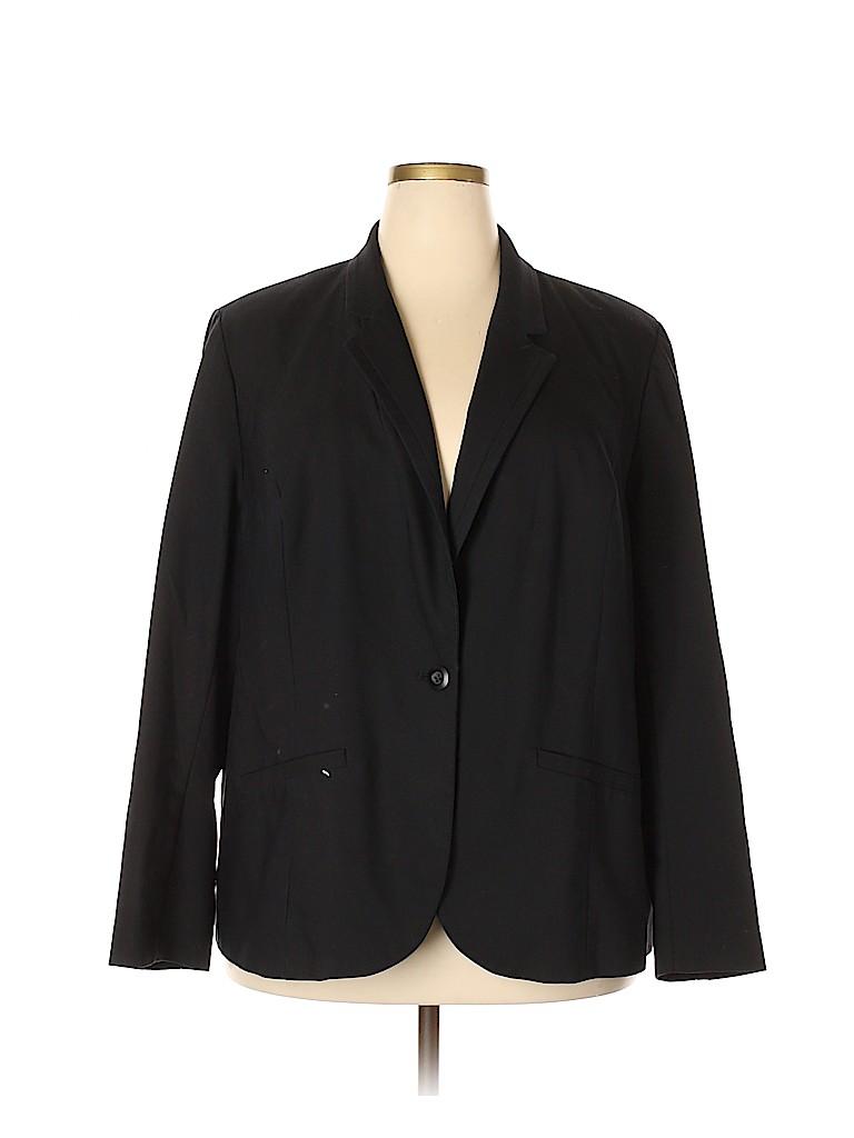 Lane Bryant Women Blazer Size 28 (Plus)