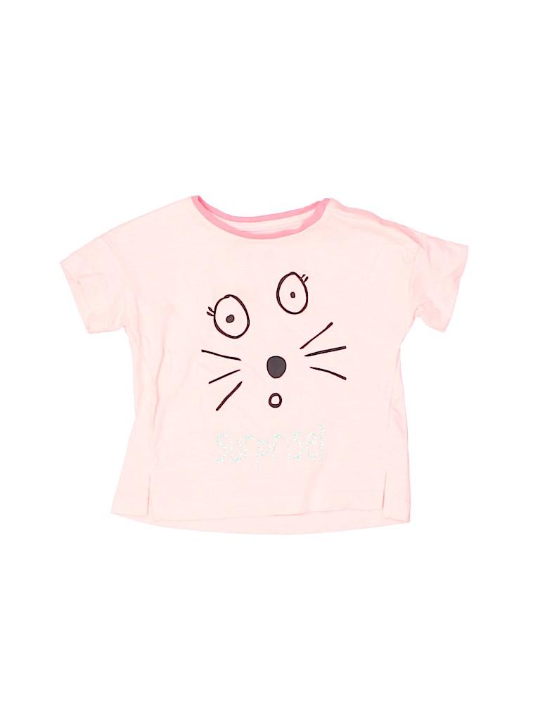 Zara Baby Girls Short Sleeve T-Shirt Size 12 mo