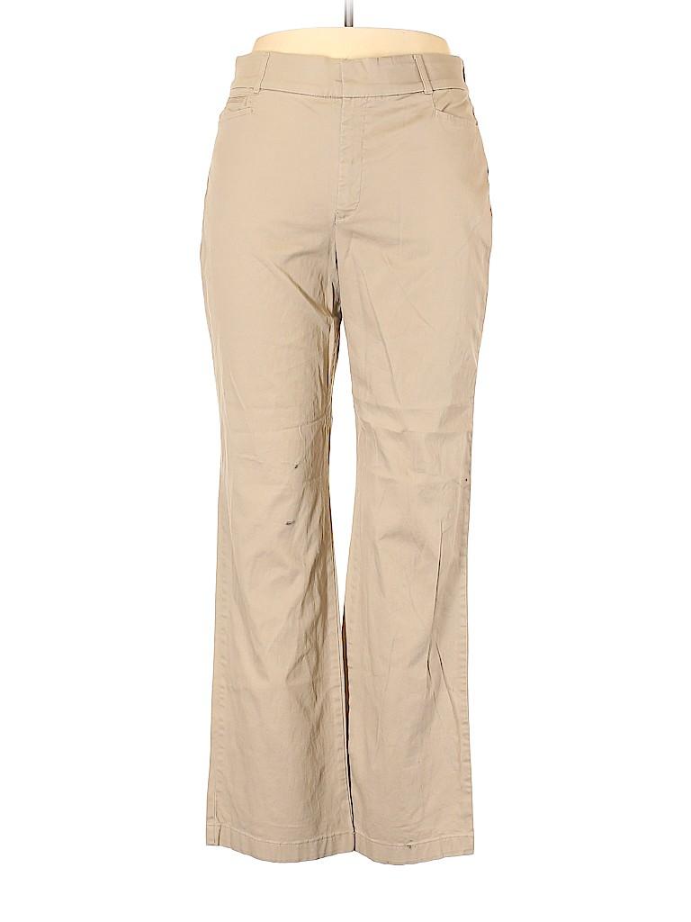 Gloria Vanderbilt Women Khakis Size 14