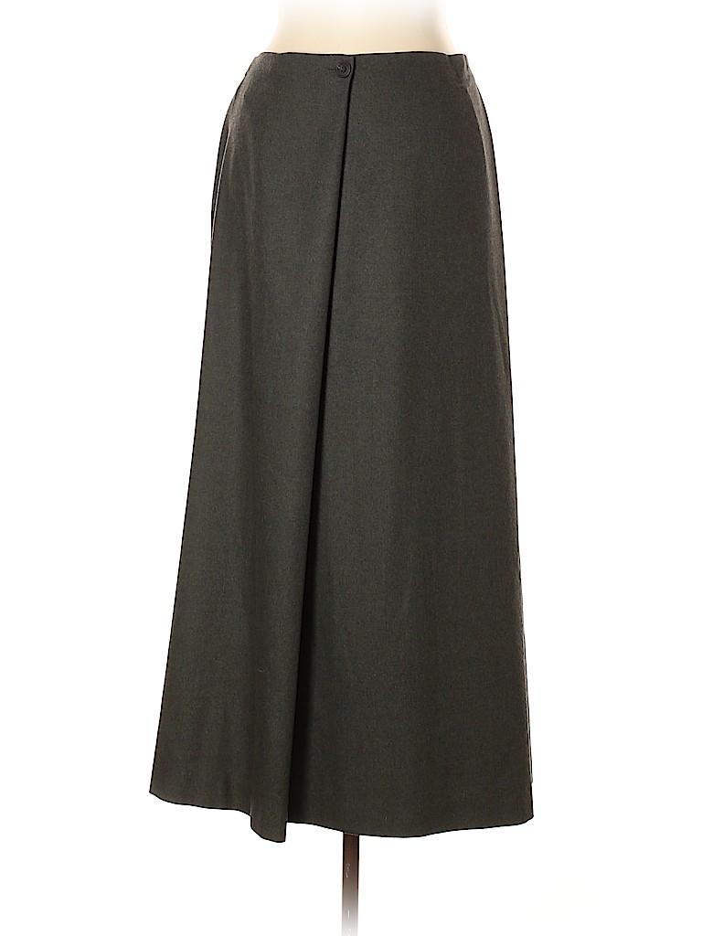 Eskandar Women Wool Skirt Size 12 (2)
