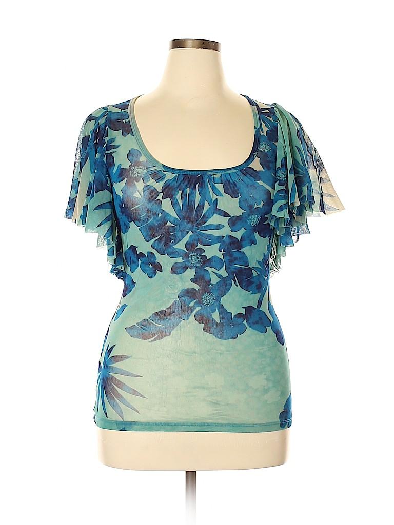 Karen Kane Women Short Sleeve Top Size XL
