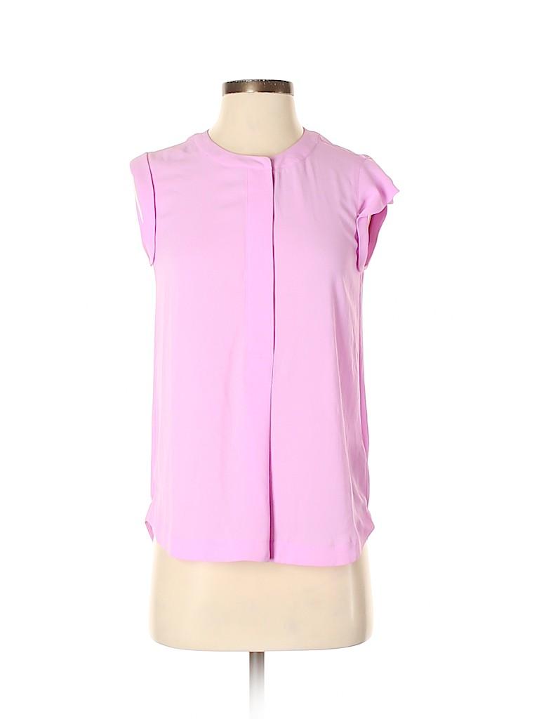 J. Crew Women Short Sleeve Blouse Size 00