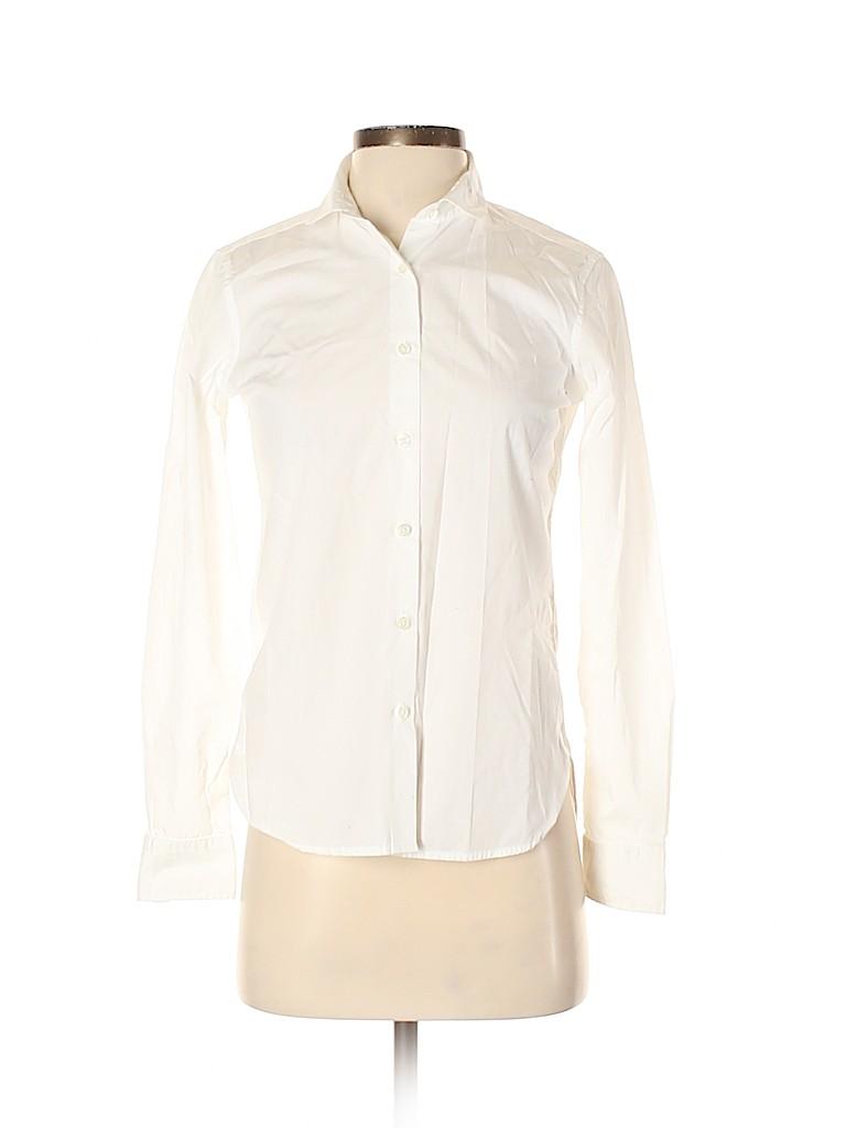 Unbranded Women Long Sleeve Button-Down Shirt Size XS