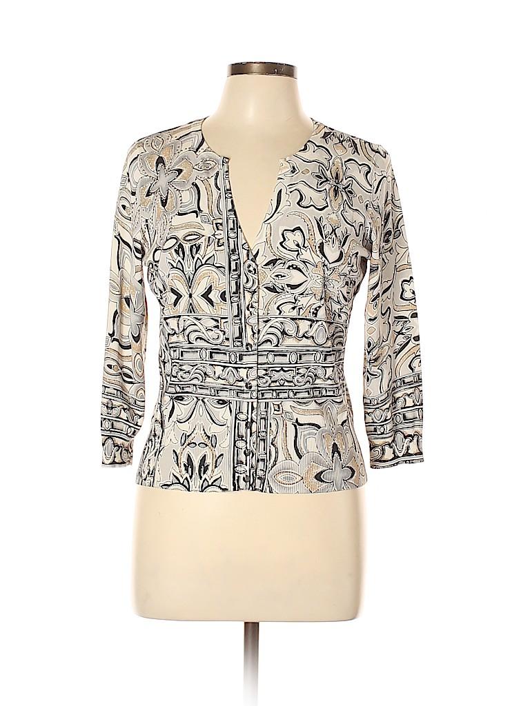 White House Black Market Women Cardigan Size L