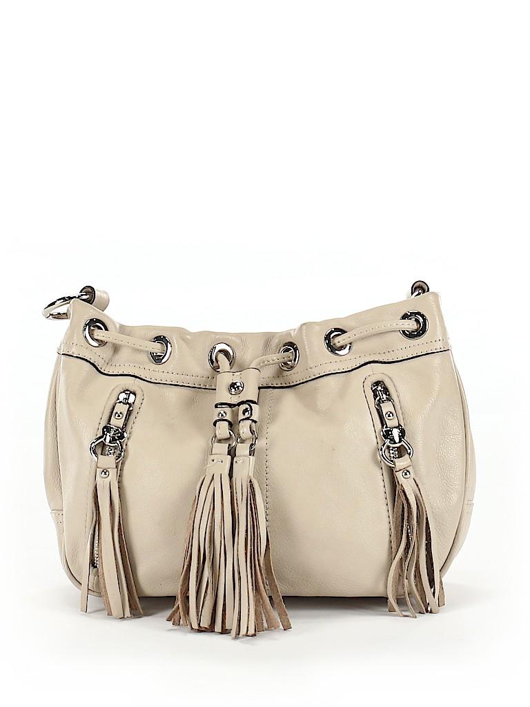 B Makowsky Women Leather Bucket Bag One Size