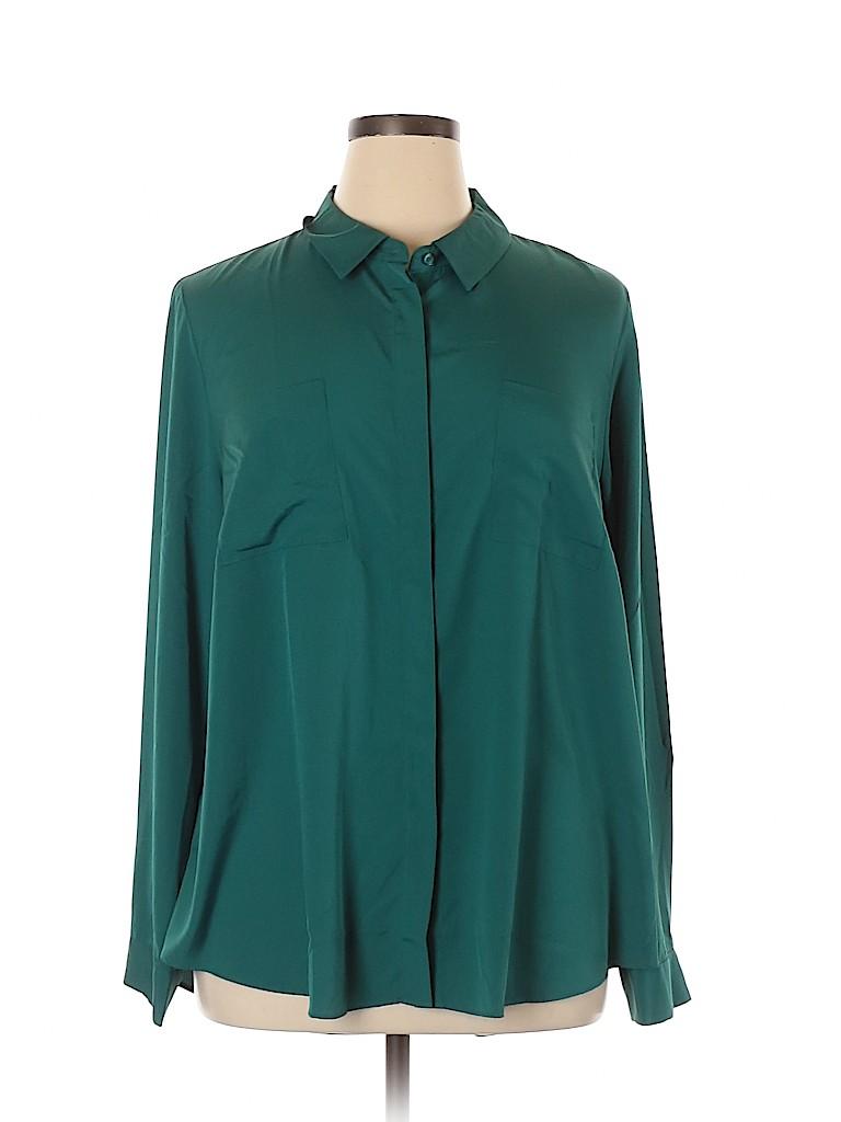 Lane Bryant Women Long Sleeve Blouse Size 18 - 20 Plus (Plus)