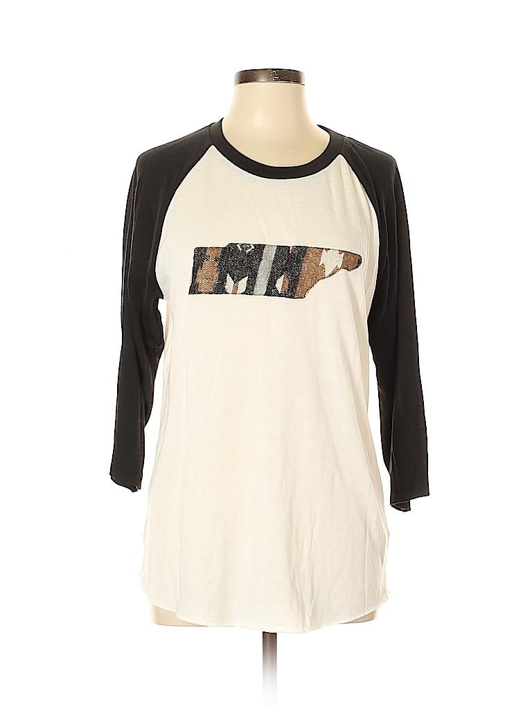 Alternative Earth Women 3/4 Sleeve T-Shirt Size L