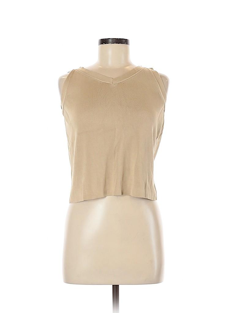 Ann Taylor LOFT Women Sleeveless Silk Top Size M
