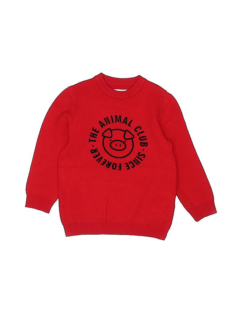 Zara Kids Boys Pullover Sweater Size 5