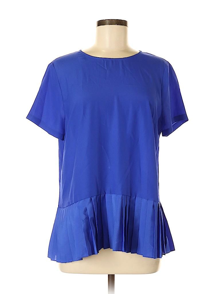 J. Crew Factory Store Women Short Sleeve Blouse Size M