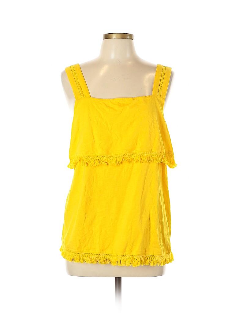 J. Crew Women Sleeveless Blouse Size XL