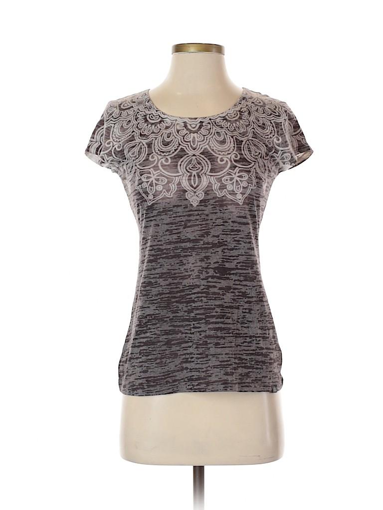 PrAna Women Short Sleeve Blouse Size S