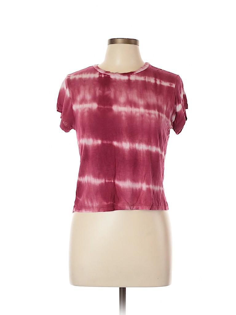 LA Hearts Women Short Sleeve T-Shirt Size L