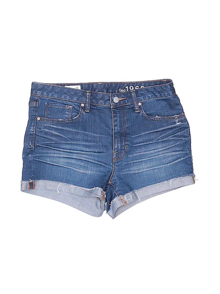 Gap Women Denim Shorts Size 28 (Plus)