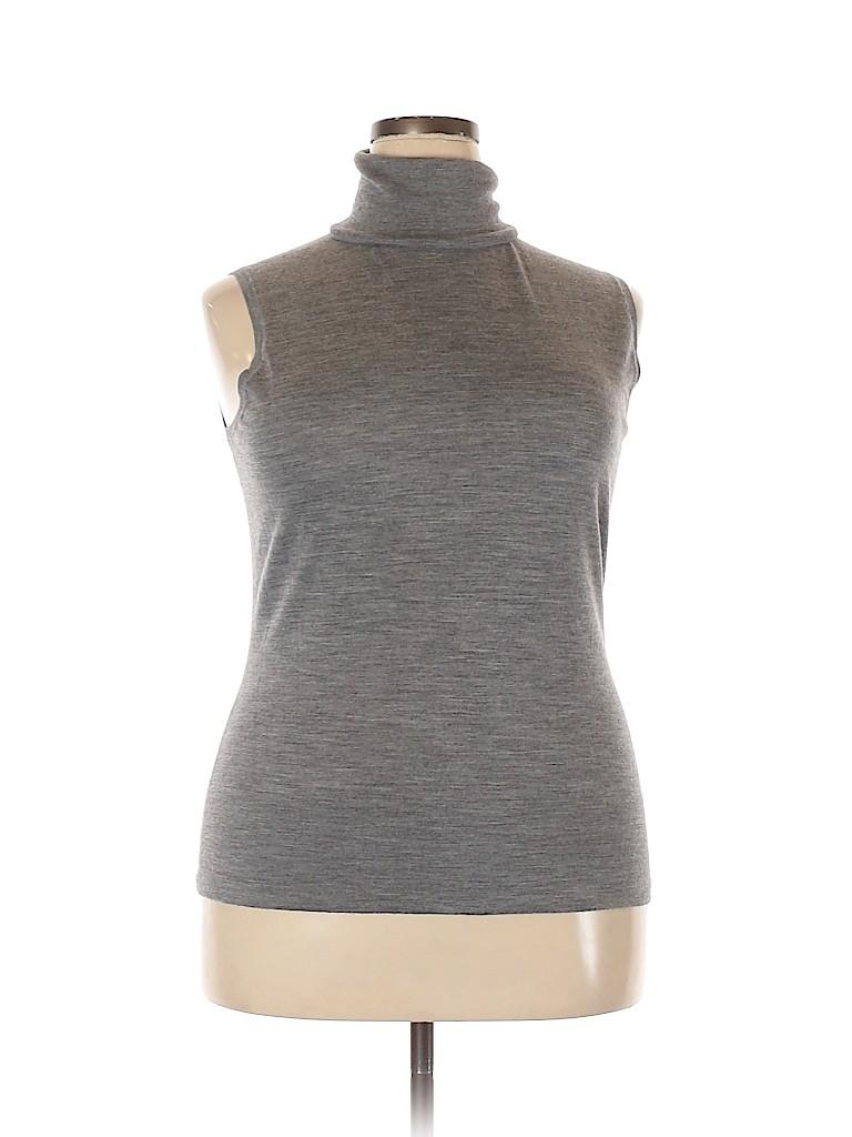 Lafayette 148 New York Women Wool Pullover Sweater Size XXL