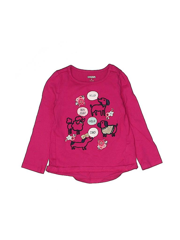 Gymboree Girls Long Sleeve T-Shirt Size 3T