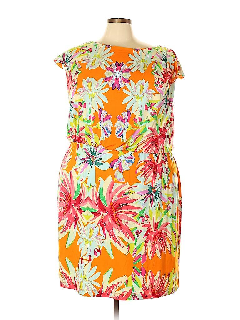 Tiana B. Women Casual Dress Size 22 (Plus)