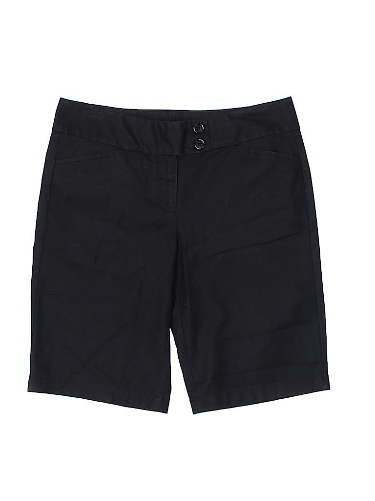 Ann Taylor Women Khaki Shorts Size 2