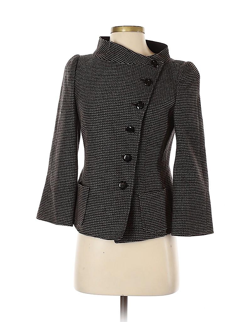 Armani Collezioni Women Wool Coat Size 40 (FR)