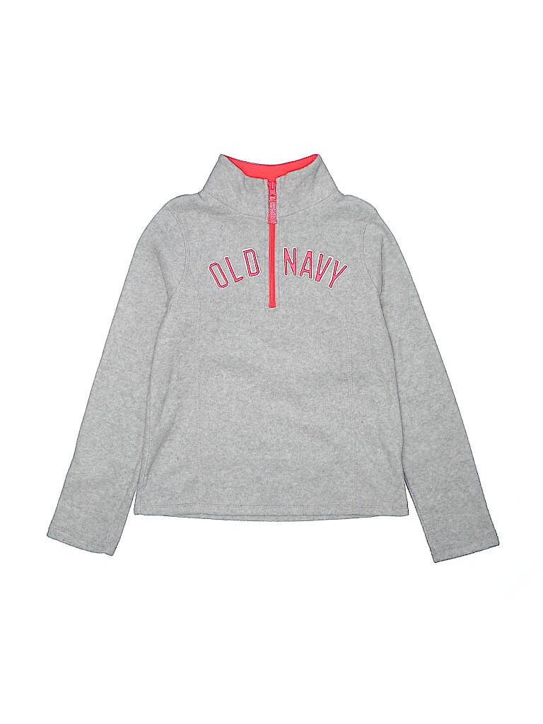 Old Navy Girls Fleece Jacket Size L (Youth)