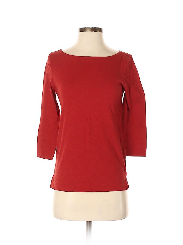 Ann Taylor LOFT Women 3/4 Sleeve Top Size XS