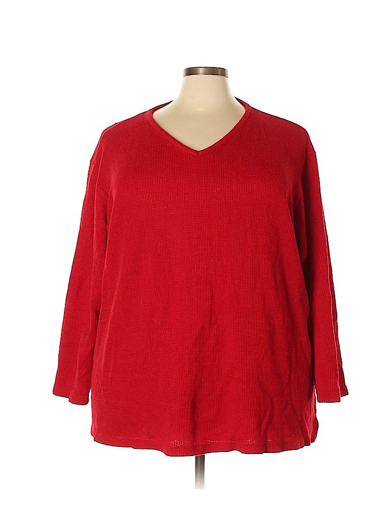 Avenue Women Pullover Sweater Size 30 - 32 Plus (Plus)