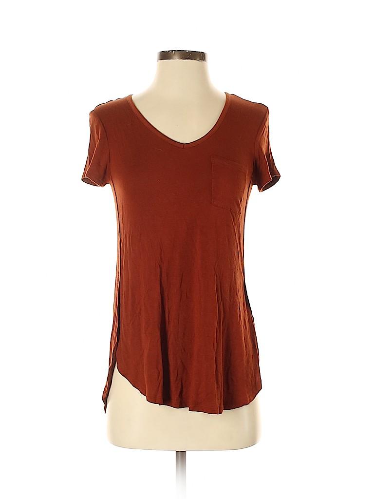 Brand Unspecified Women Short Sleeve T-Shirt Size XS