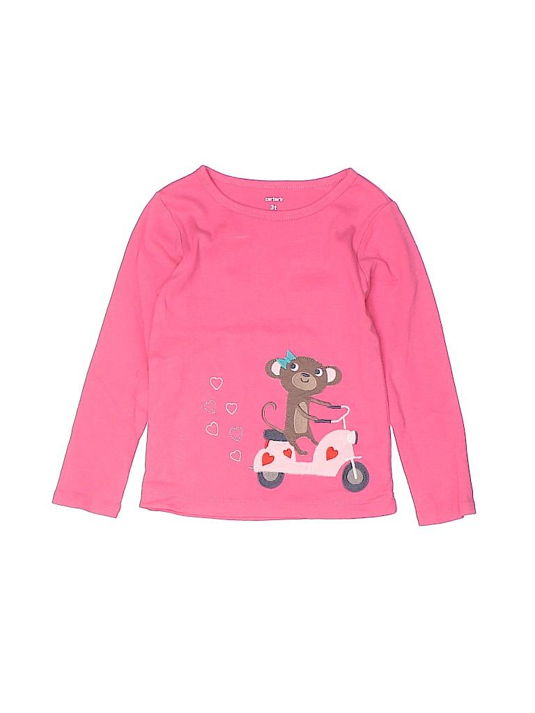 Carter's Girls Long Sleeve T-Shirt Size 3T