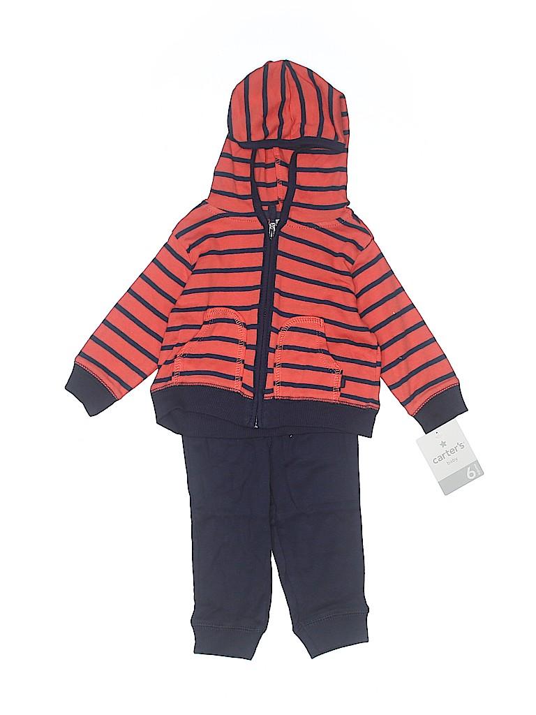 Carter's Boys Zip Up Hoodie Size 6 mo