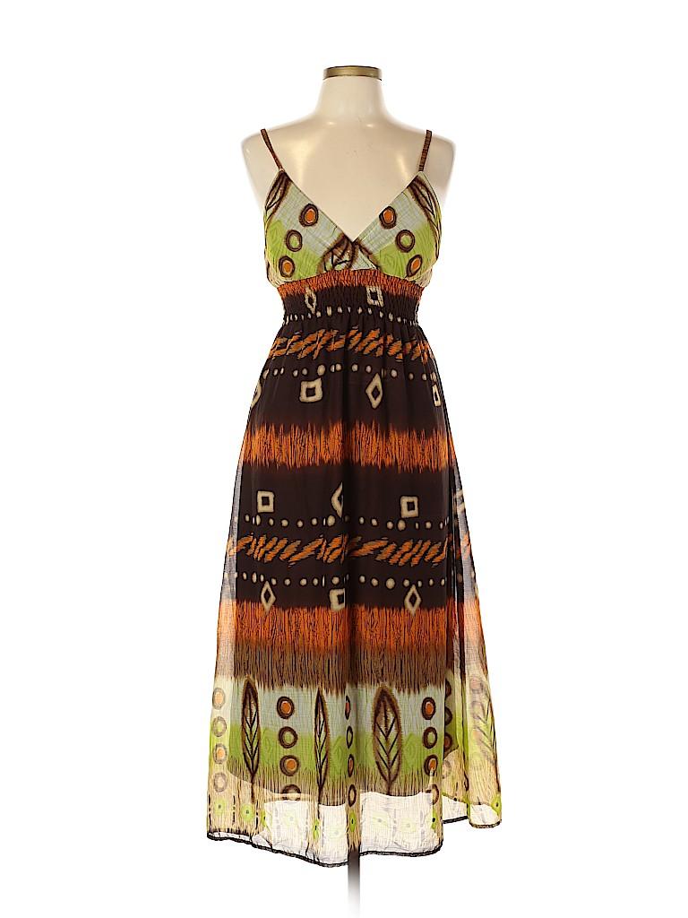 She's Cool Women Casual Dress Size L