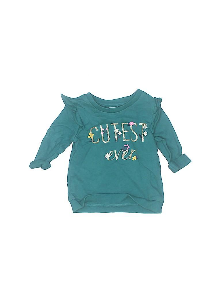 Carter's Girls Sweatshirt Size 6 mo
