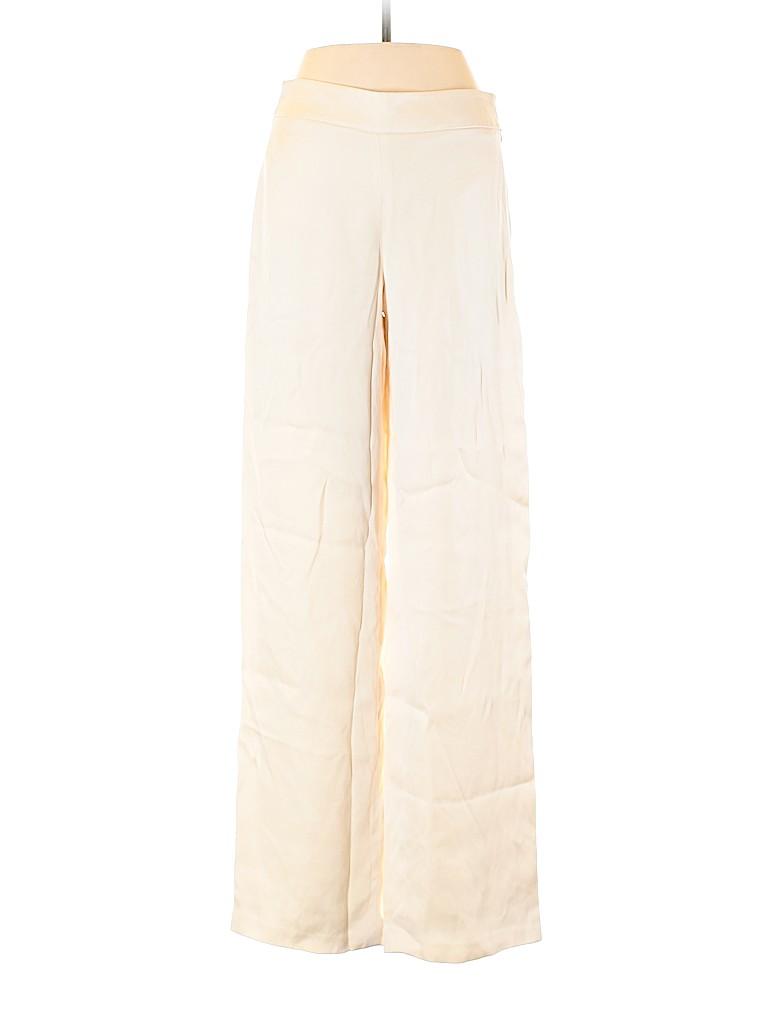 Giorgio Armani Women Silk Pants Size 40 (IT)