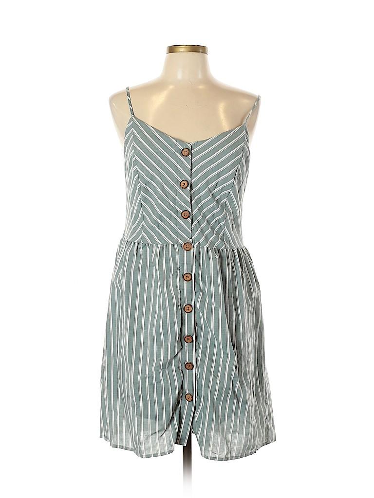 Paper Crane Women Casual Dress Size L